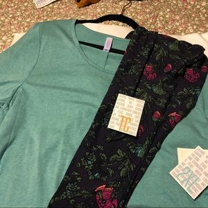Lularoe Perfect T Outfit 2XL/TC ❤️